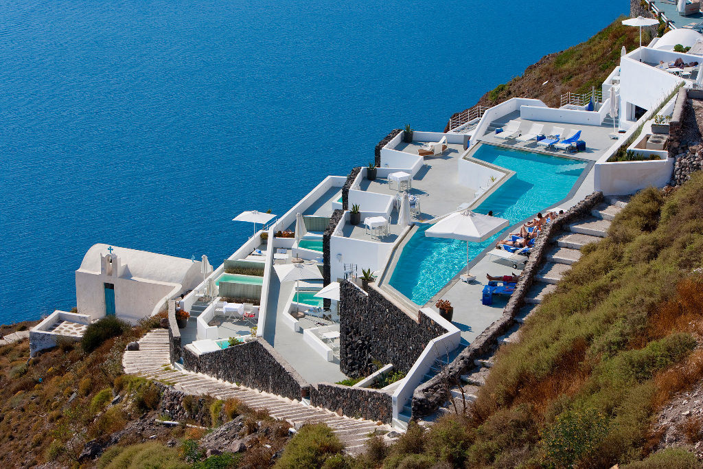 Pictures of grace santorini hotel imerovigli santorini for Hotels santorin