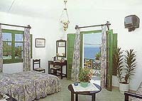 Veggera Hotel, Perissa, Santorini, Greece