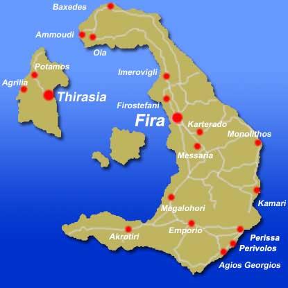 santorini greece tourist map pdf