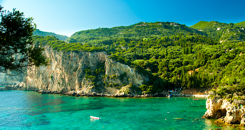 beaches of corfu