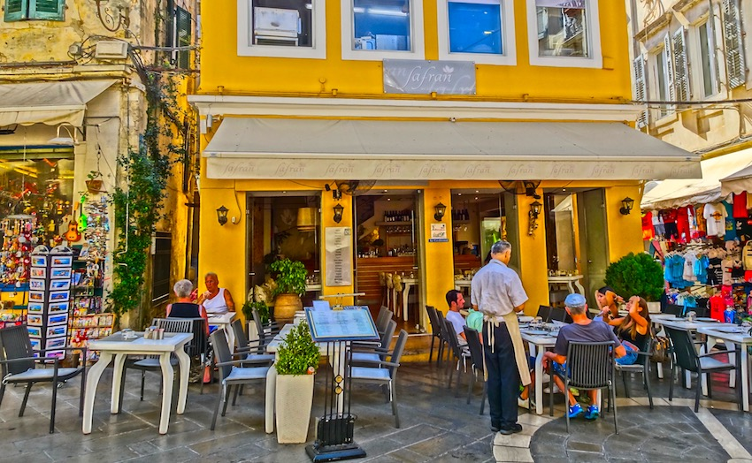 """Image result for restaurants and shops in old town corfu"""""""