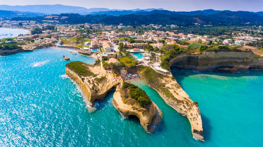 Beaches of Corfu