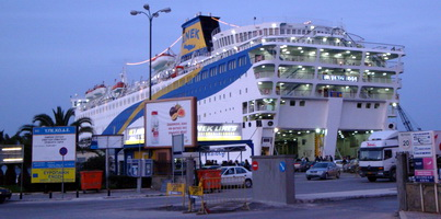 Tours Of Greece Using Ferries
