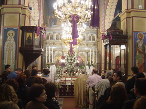 Friday of the Epitaphios in Kea
