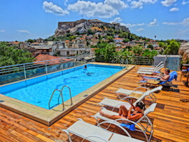 Electra Palace Acropolis view pool