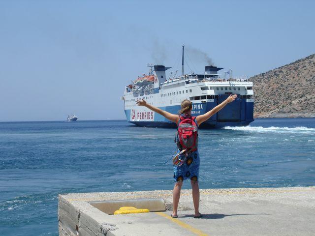 Greece Travel: About Greek Island Ferry Boats