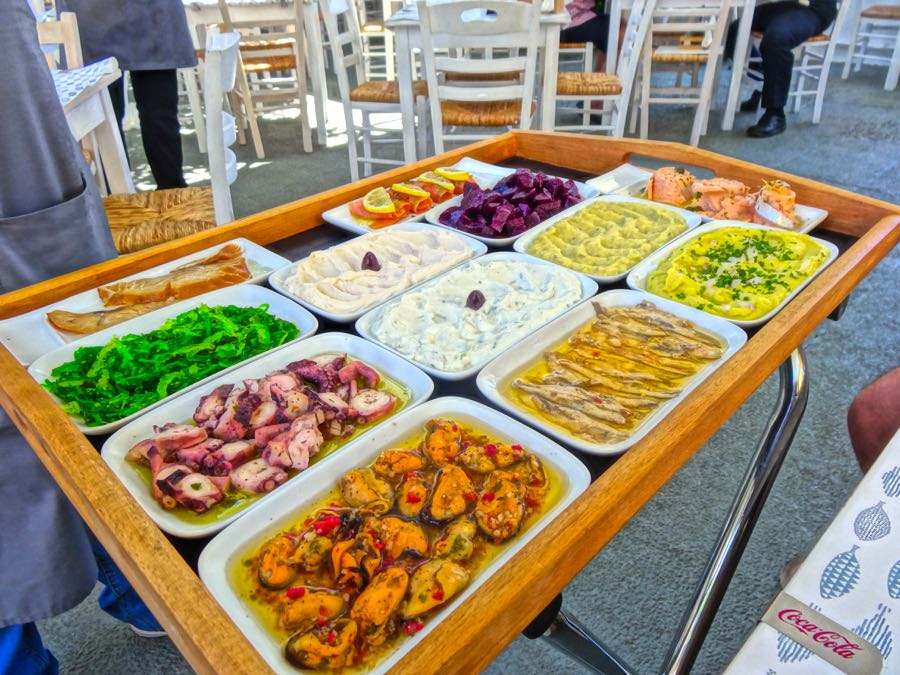 Greek Food: Mezedes
