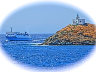 Greek travel ferry