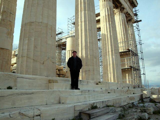 Matt Barrett 39 S Greece Travel Blog Inside The Parthenon