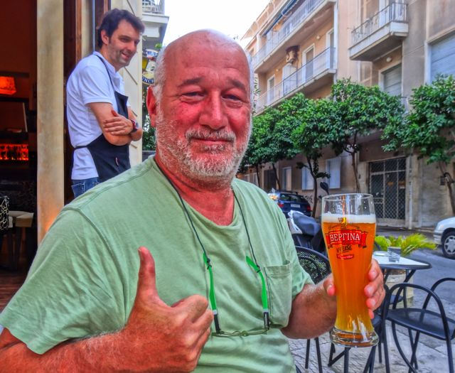 Drinking (Good) Beer in Athens
