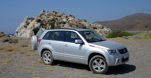 Greece by Suzuki Grand Vitara