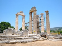 Temple, Nemea, Greece