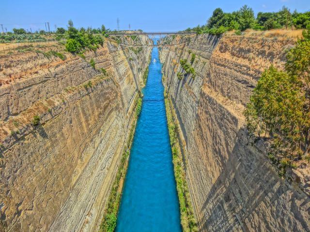 Peloponnesos Greece Corinth and the Argolis