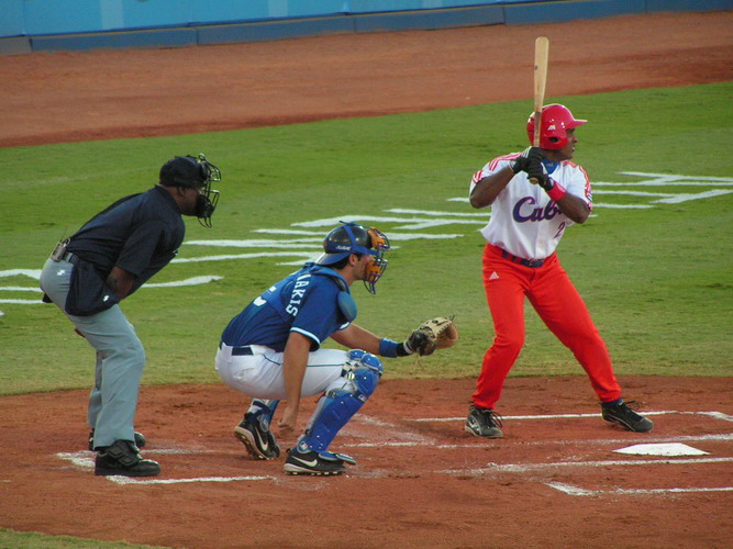 deciding between olympics or baseball for my Baseball is a bat-and-ball game played between two opposing teams who take turns batting and fielding the game proceeds when a player on the fielding team, called the pitcher.