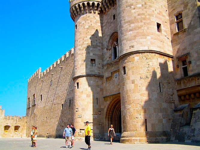 Rhodes, Greece: The Old Town