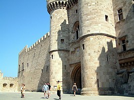 Grandmaster Palace in the Old City of Rhodes