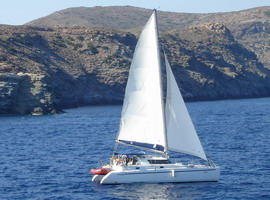 Sailboat charter, Greece