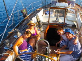 Sailing in the Greek islands