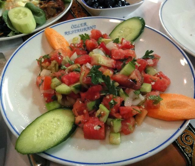 Ezme Salatasi (Turkish Tomato Salad)